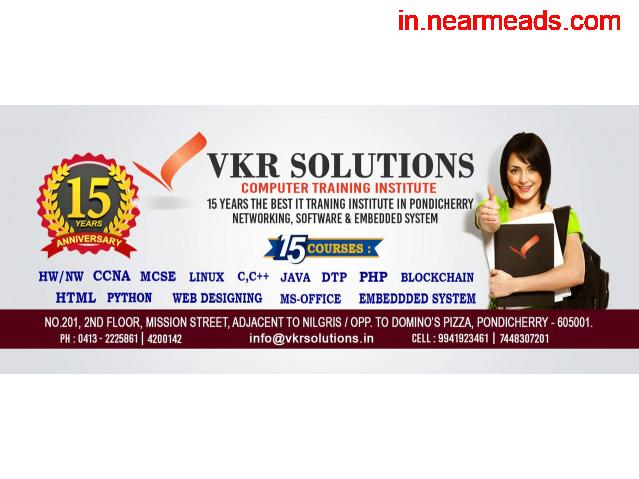 VKR Solution – Top Ethical Hacking Training in Pondicherry - 1