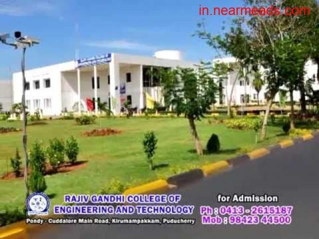 Rajiv Gandhi College of Engineering and Technology Pondicherry - 1