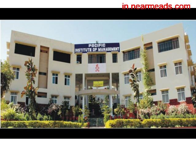 Pacific Institute of Management – Top MBA College Udaipur - 1