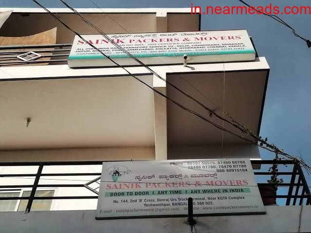 Sainik Packers Movers – Domestic Movers in Bangalore - 1