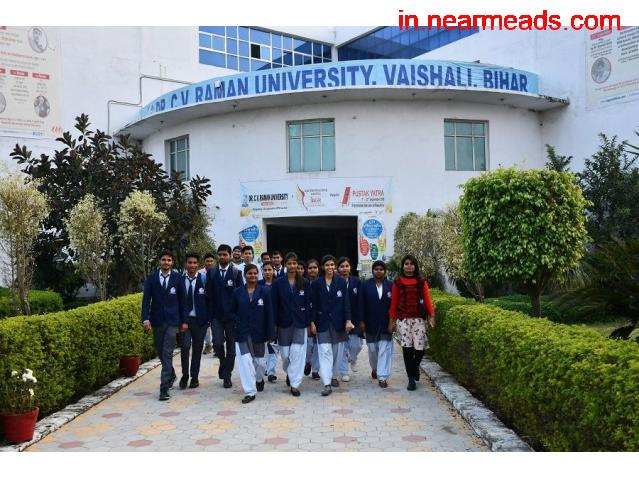 Dr. C.V. Raman University, Bihar – Best University for MBA in Patna - 1