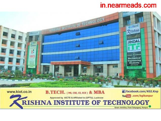 Krishna Institute of Technology – Best MBA Course in Kanpur - 1