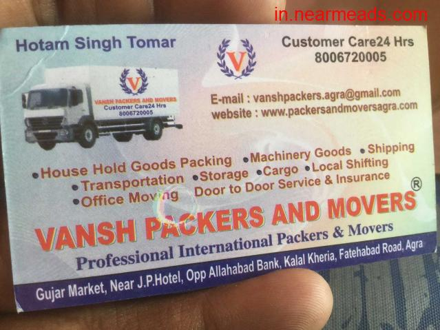 Vansh Packers and Movers – Relocate your House Now - 1
