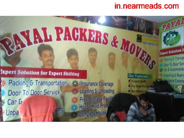 Payal Packers and Movers – Shifting Services in Agra - 1