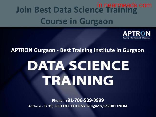 Aptron Gurgaon – Data Science Training Program in Gurgaon - 1