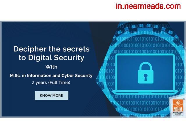 NSHM – Pursue M.Sc in Cyber Security - 1