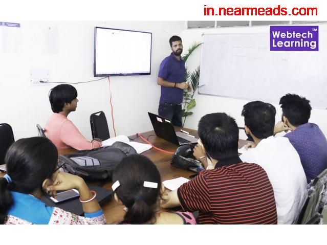 Best Machine Learning Training at Web Tech Learning Institute - 1
