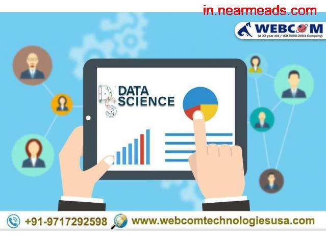 Webcom Technologies – Top Data Scientist Course Agra - 1