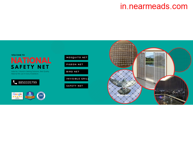National Safety Net-Mosquito Net, Mosquito Net for Windows - 1