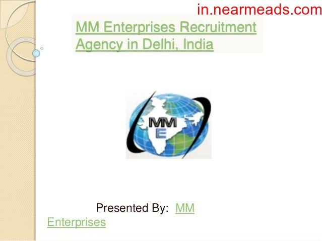 M.M. Enterprises – HR and Recruitment Services Delhi - 1
