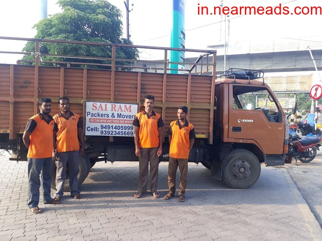 Sairam Packers and movers in Hyderabad - 1
