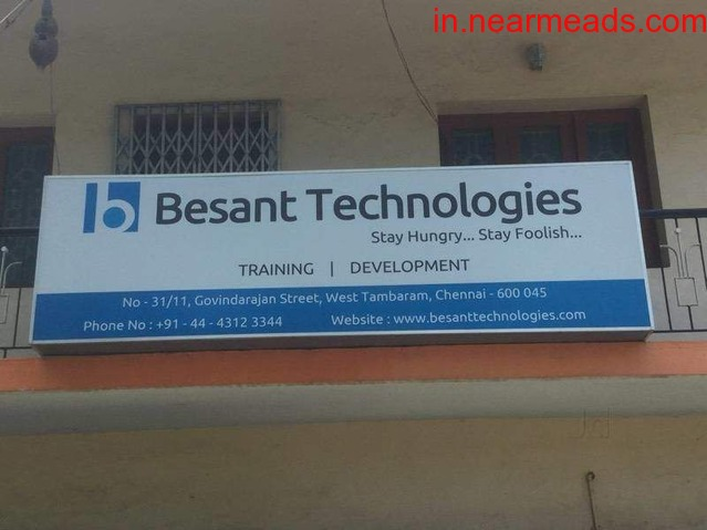 Besant Technologies – Learn Artificial Intelligence Course Now - 1