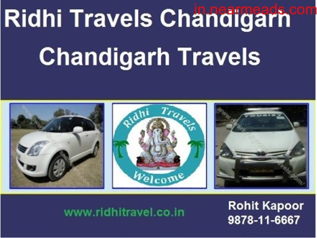 Ridhi Travels – Best Tour Package Company in Chandigarh - 1