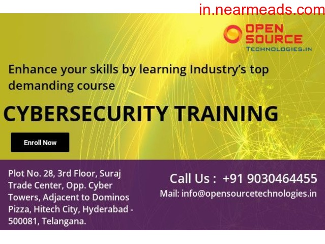 Open Source Technologies – Best Cyber Security Course in Hyderabad - 1