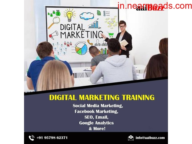 AaiBuzz Best Digital Marketing Training and Placement Institute in Navi Mumbai - 1